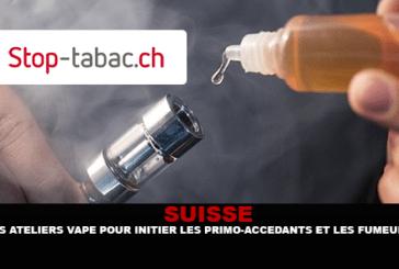 SWITZERLAND: סדנאות Vape להציג לראשונה קונים מעשנים.