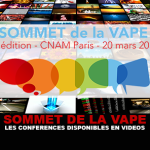 SOMMET DE LA VAPE : Les conférences de la seconde édition disponibles en vidéos.