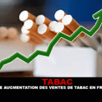TOBACCO: An increase in cigarette sales in France.