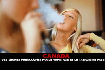 קנדה: צעירים מודאגים מעישון ומן יד שנייה.