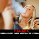 CANADA: i giovani sono preoccupati per lo svapo e il fumo passivo.
