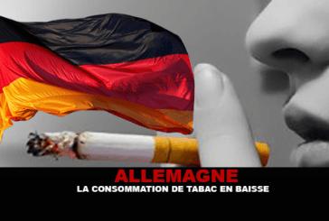 ALLEMAGNE : La consommation de tabac en baisse.