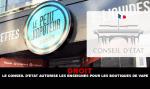 A DESTRA: il Consiglio di Stato autorizza le indicazioni per i negozi di vaporizzatori.