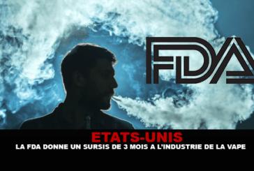 """ארה""""ב: ה- FDA מעניק 3 חודשים לדחות את תעשיית vape."""