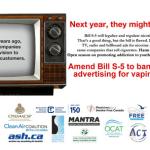 CANADA : Une coalition réclame un amendement pour protéger les jeunes contre la promotion de la vape.