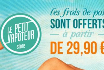 INCREDIBILE! Consegna GRATUITA da Euro 29,90 a Le Petit Vapoteur