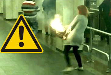 BELARUS: New explosion of e-cigarette, the bag catches fire!