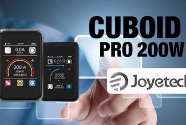 INFO BATCH : Cuboid Pro 200W (Joyetech)