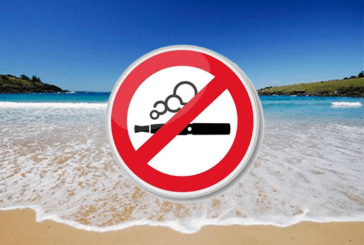 SOCIETY: A first beach officially prohibited to vaping.