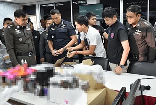 TAILANDIA: Nuevos arrestos y confiscaciones de cigarrillos electrónicos.