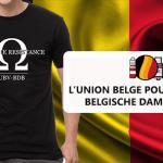 ΒΕΛΓΙΟ: Η UBV-BDB εγκαινιάζει ένα μπλουζάκι για τη χρηματοδότηση της άμυνας της βλάκας!