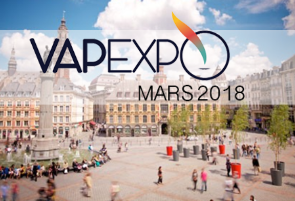 VAPEXPO: The March 2018 edition should take place at ....