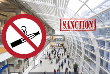 E-CIGARETTE: запрет в некоторых общественных местах от 1er October.