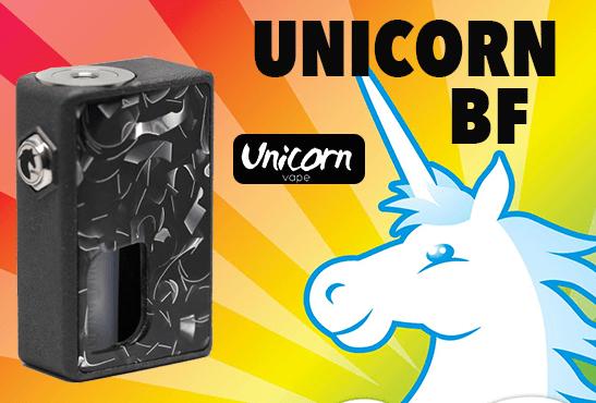 INFO BATCH : Unicorn BF Box (Unicorn Vape)