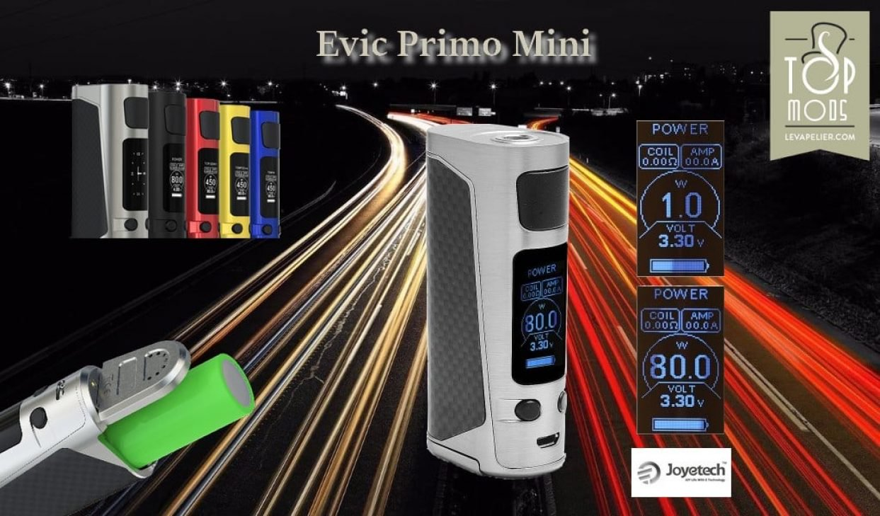 REVIEW: EVIC PRIMO MINI BY JOYETECH