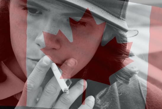 קנדה: המחקר מדגיש 'אפקט השוליים' מ E- סיגריה לעישון
