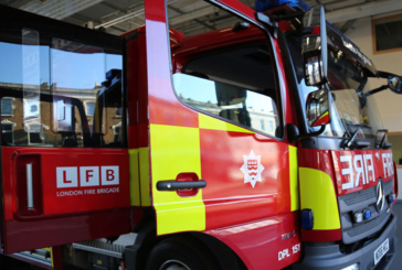 UNITED KINGDOM: A fire triggered by an e-cigarette charging.