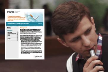 ΚΑΝΑΔΑ: Η χρήση ηλεκτρονικών τσιγάρων μεταξύ των νέων στο Κεμπέκ και τον Καναδά.