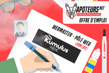 JOB OFFER: Webmaster Web Center - Kumulus Vape - Lyon (69)
