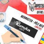 JOB OFFER: Webmaster Web Center - Kumulus Vape - Lyon (69)