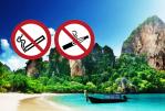 THAILAND: Niet roken en vapen op de stranden!