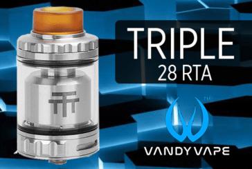מידע נוסף: טריפל 28 RTA (Vandy Vape)