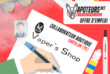 JOB OFFER: Collaborator Shop - Vaper's Shop - Châtillon (92)