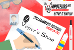 VACATURE: Boetiekmedewerker - Vaper's Shop - Châtillon (92)