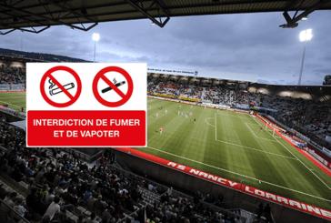 SOCIETE : Le stade Marcel Picot de Nancy interdit l'e-cigarette !