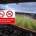 SOCIETY: Marcel Picot stadium in Nancy forbids e-cigarettes!