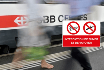 SWITZERLAND: Tobacco and e-cigarettes soon banned at SBB railway stations.