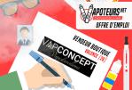 VACATURE: boetiekverkoper - Vapconcept - Valence (26)