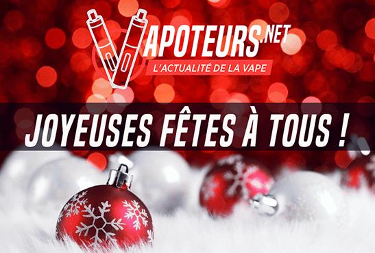 NATALE: Scrivere Vapoteurs.net ti augura buone vacanze!