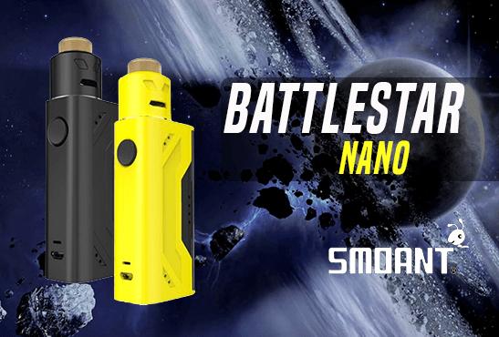 INFO BATCH : Battlestar Nano (Smoant)