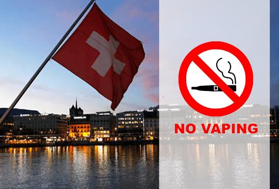SUISSE : L'e-cigarette soumise aux mêmes restrictions que le tabac !