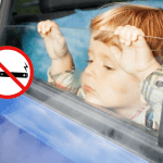 BELGIUM: The e-cigarette prohibited by car with children!
