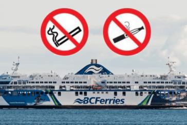 CANADA : La compagnie BC Ferries ne veut plus d'e-cigarette sur ses embarcations.