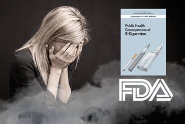 ETATS-UNIS : L'analyse de 800 études sur l'e-cigarette accouche d'un rapport accablant