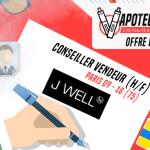 הצעת עבודה: יועץ מכירות (M / F) - JWELL - פריז 09 / פריז 16