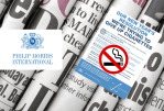 UNITED KINGDOM: Philip Morris Announces Stops in Newspaper Sales