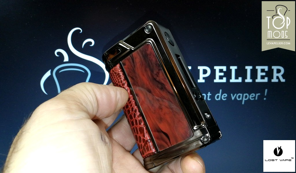 REVUE : Paranormal DNA166 par Lost Vape