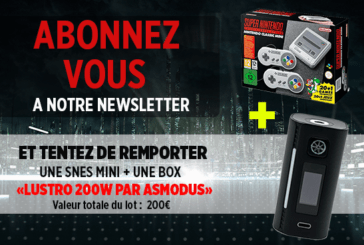 NEWSLETTER: Subscribe and try to win a Snes Mini and a Lustro 200W!