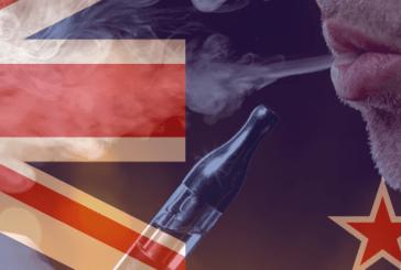 NUEVA ZELANDA: una disminución en el tabaquismo y un aumento en el vapeo.
