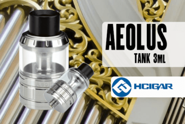 BATCH INFO: Aeolus Tank 3ml (Hcigar)
