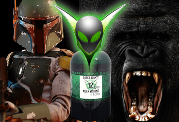 LET'S TALK E-JUICE: A smashing comeback of Boba's Bounty and Gorilla Juice!