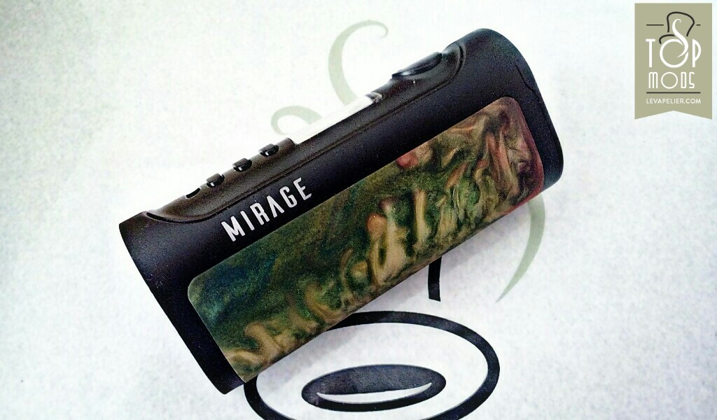 REVUE : Box Mirage DNA 75C par Lost Vape