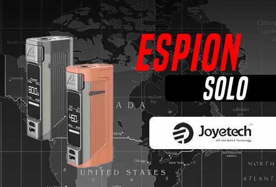 INFO BATCH : Espion Solo (Joyetech)