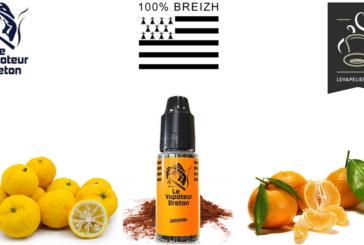 REVUE : Orange (Gamme sensations) par Le Vapoteur Breton
