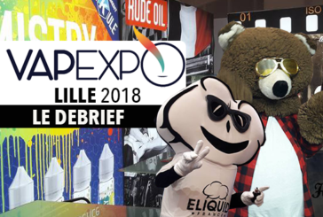 VAPEXPO: Back to the Lille 2018 edition of the e-cigarette show!
