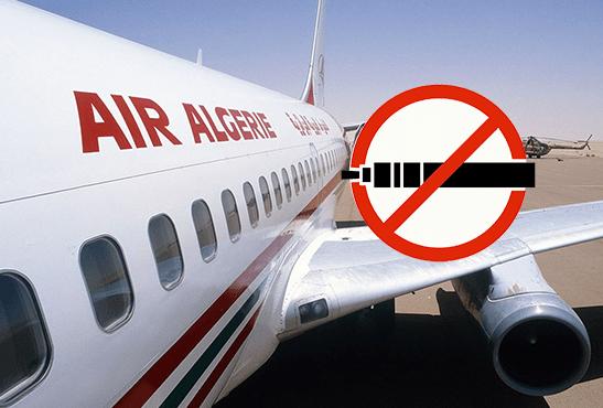 Droit Air Algerie Interdit Desormais La Cigarette Electronique Dans Les Bagages